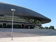 Pavilhão Atlântico (Atlantic Pavilion), an indoor sports venue and concert hall in Lisbon