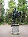 "Pavlovsk Park. Twelve tracks. Statue ""Apollo Belvedere."".JPG"
