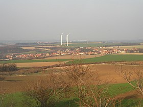 Pchery CZ from WSW from Vinaricka hora 0157.jpg