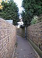 Pedestrian Cut - through - geograph.org.uk - 610822.jpg