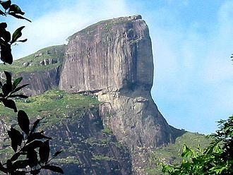 Pareidolia - Image: Pedra da Gavea proche