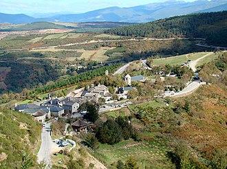 Pedrafita do Cebreiro - The entire village of Pedrafita do Cebreiro