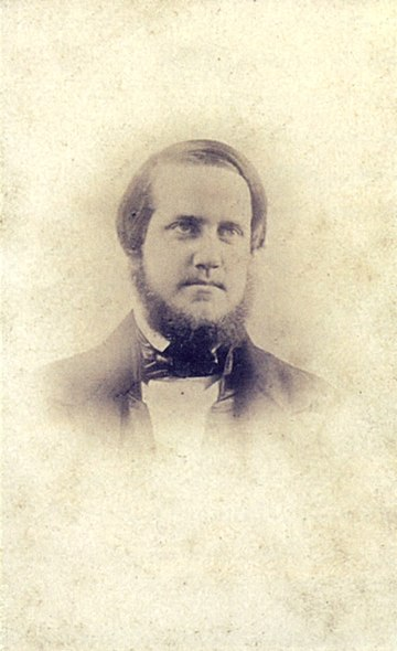 Pedro II around age 22, c.1848. This is the earliest surviving photograph of the Emperor Pedro II of Brazil 1848.jpg