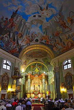 Pentecost Mass, St Anne Church, Budapest.jpg