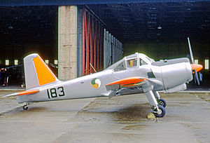 Percival Provost - Provost T.53 of the Irish Air Corps at Baldonnel airfield Ireland in 1967