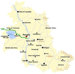 Province Of Perugia Wikipedia