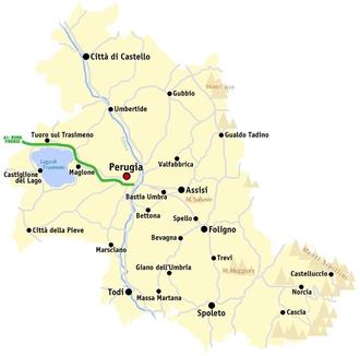 Cartina Dell Umbria Fisica.Provincia Di Perugia Wikipedia