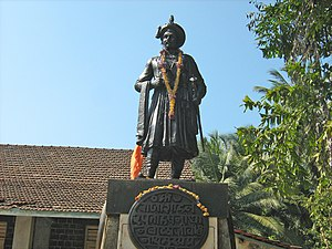 Peshwa - Statue of Peshwa Balaji Vishwanath at Shrivardhan