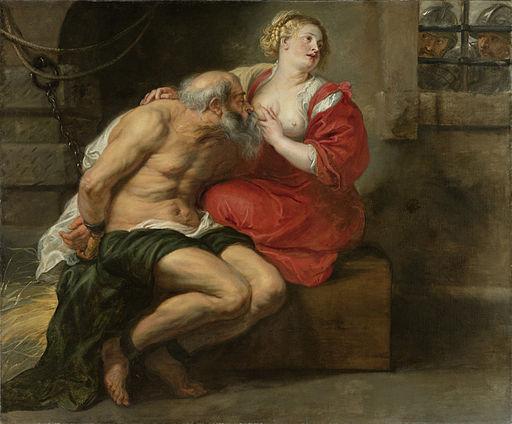 Peter Paul Rubens - Cimon en Pero