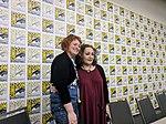 Petra Meyer and Emil Ferris, spotlight panel, San Diego Comic-Con, San Diego, California, USA (29696600228).jpg