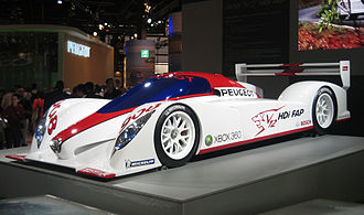 Peugeot 908 HDi FAP - An early 908 design model shown in 2006