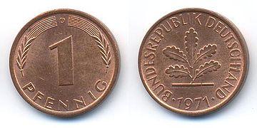 Pfennig Wikipedia