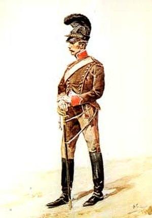 Portuguese Legion (Napoleonic Wars) - Cavalry soldier of the Portuguese Legion