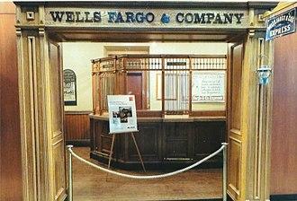 Wells Fargo Museum (Phoenix) - 1920 Wells Fargo Bank.