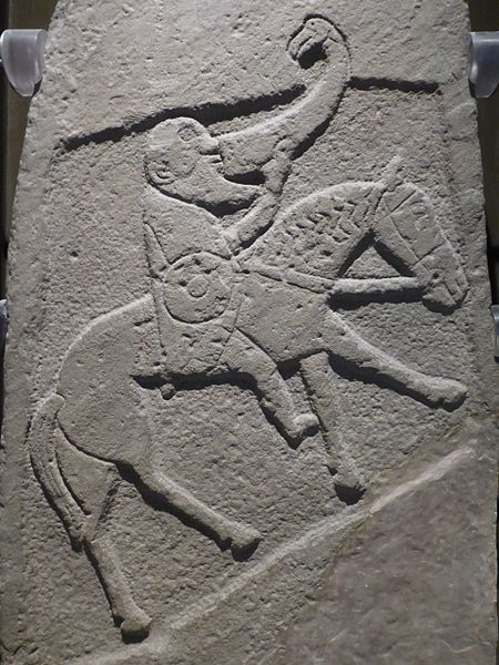 File:Pictish warrior with drinking horn.JPG