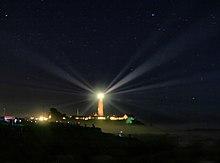 Segnale luminoso di un faro