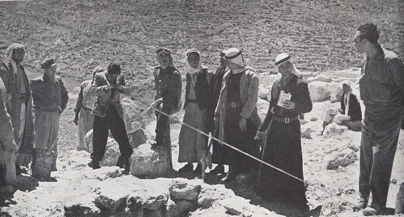 מתיחת קו גבול בין ישראל לירדן