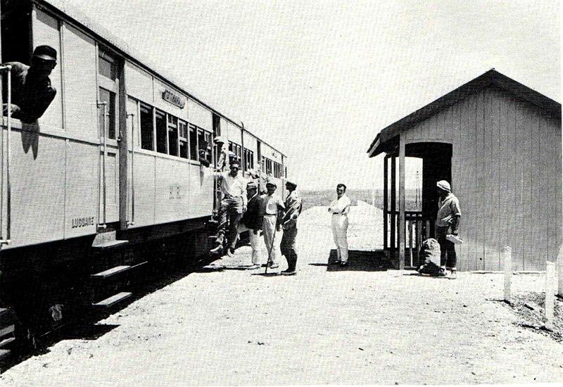 תחנת הרכבת ליד עין חרוד