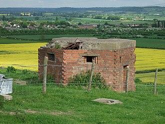 Gotham, Nottinghamshire - Gotham Pillbox