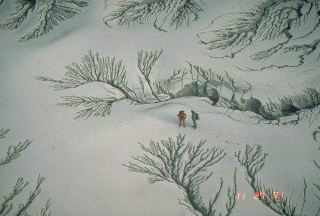 Pinatubo - pyroclastic fall