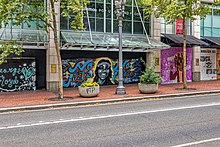 Black Lives Matter Art In Portland Oregon Wikipedia