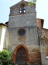 The church of Saint-Félix, in Piquecos