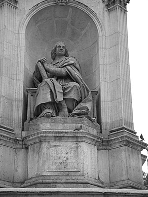Fontaine Saint-Sulpice - Image: Place St Sulpice 4