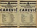 Plakat za predstavo Carevič v Narodnem gledališču v Mariboru 29. aprila 1930.jpg
