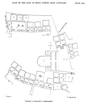 Bava Pyara caves - Plan of Bava Pyara caves