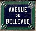 Plaque Avenue Bellevue - Le Pré-Saint-Gervais (FR93) - 2021-04-28 - 1.jpg