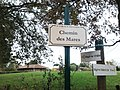 Plaque Chemin Mares St Cyr Menthon 2011-11-05.jpg