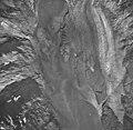 Plateau Glacier, glacial remnents, tidewater glacier, and glacial flour, September 17, 1966 (GLACIERS 5780).jpg
