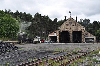 Beamish Museum - The Great Shed of the Pockerley Waggonway
