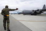 Polish Air Force C-130 Hercules during Red Flag-Alaska on Joint Base Elmendorf-Richardson June 13, 2012.jpg