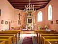Polska , Czeszewo - widok kościoła św. Andrzeja od strony wejścia. - panoramio.jpg