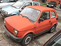Polski Fiat 126 BIS on Rotmistrza Zbigniewa Dunin-Wąsowicza street in Kraków (3).jpg