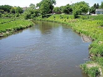 Pomme de Terre River (Minnesota) - The Pomme de Terre River in Appleton in 2007