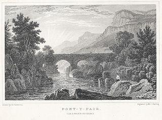 Pont-Y-Pair. Caernarvonshire