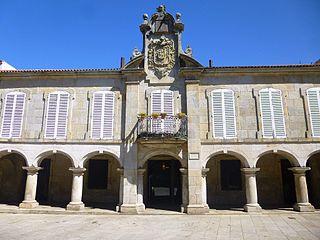 Pazo de Mugartegui Baroque Mansion in Pontevedra, Spain