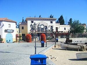 PortAventura World - The entrance zone of the Mediterrània section of PortAventura.