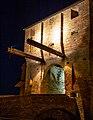 Porta di Sopra nelle Mura Malatestiane di Mondaino.jpg