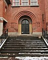 Porte annexe, lycée Paul-Langevin, Suresnes.jpg
