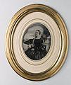 Porträtt av dam, Augusta Carolina Möller, f. Augustin, (1810-1865), 1858 - Nordiska Museet - NMA.0052473 1.jpg