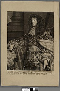 Portrait of James Duke of Monmouth & buccluch Earle of Doncaster (4671955).jpg
