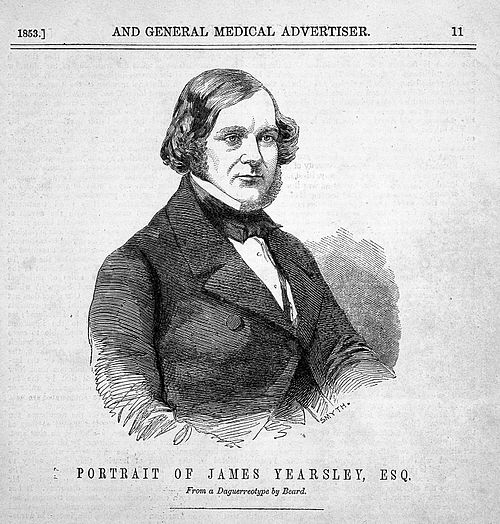 Portrait of james yearsley wellcome l0008410