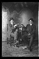 Portrait of Two men drinking Louis Obert Gold Beer.jpg