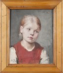 Portrait of a Girl (Amanda Sidvall) - Nationalmuseum - 133153.tif