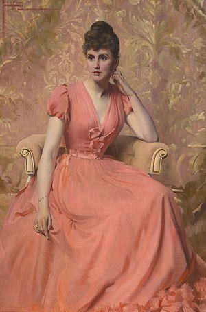 Julius Hare (artist) - Portrait of a lady