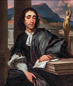 Portrait of a man, thought to be Baruch de Spinoza, attributed to Barend Graat