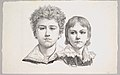 Portrait of the Rabe Children- Hermann, age 14 and Edmond, age 7; verso- proof before corrections of small faults in the images MET DP822788.jpg